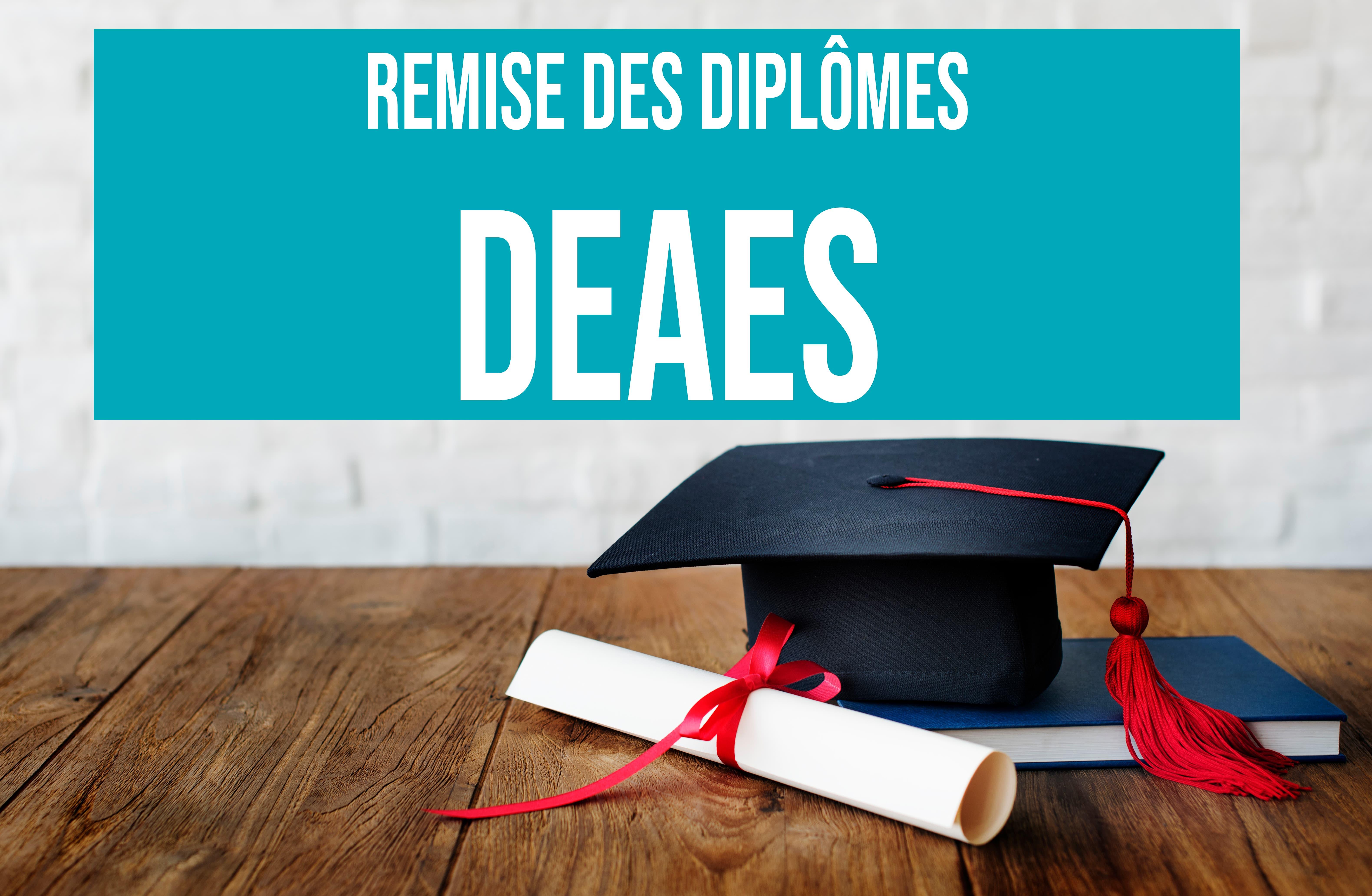 11 mars 2019 : Remise des diplômes du DEAES