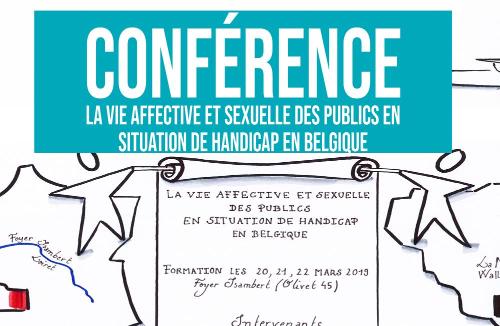 Conférence : La vie affective et sexuelle des publics en situation de handicap en Belgique
