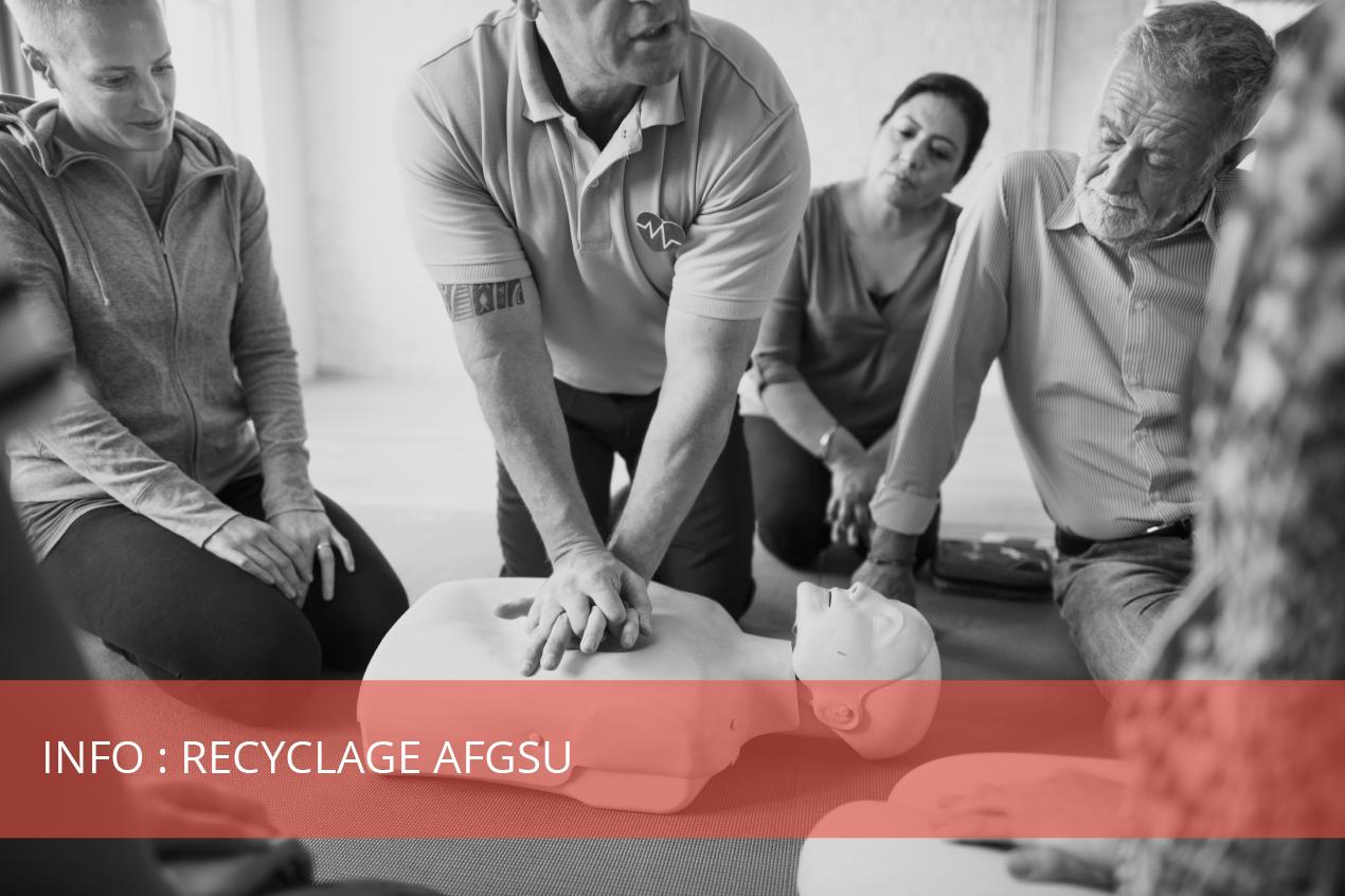 Le saviez vous ? Info recyclage AFGSU